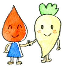 イラスト/健康な血液
